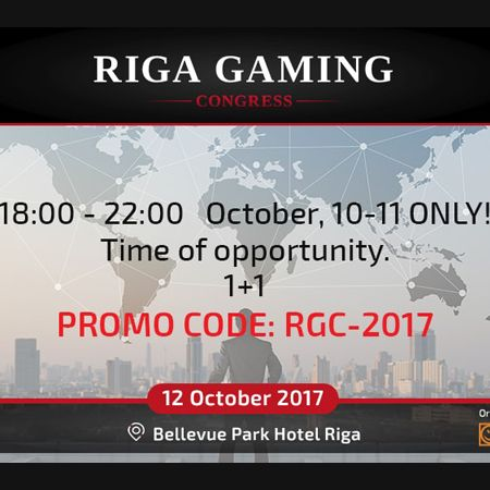 Opportunity time at Riga Gaming Congress!