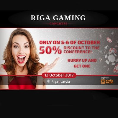 Riga Gaming Congress: blockchain in gambling, Blackjack tournament and a surprise from the organizer