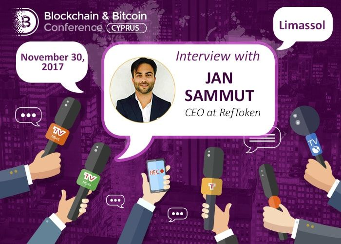 Jan Sammut speaks about blockchain in modern economy