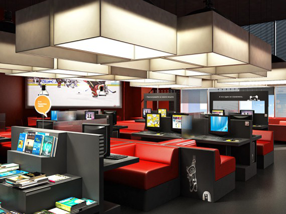 Equipment for Internet cafes