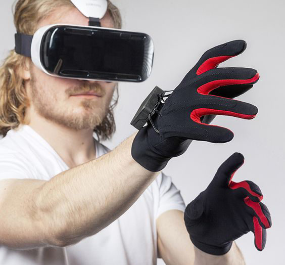 Gloves for virtual gambling, image