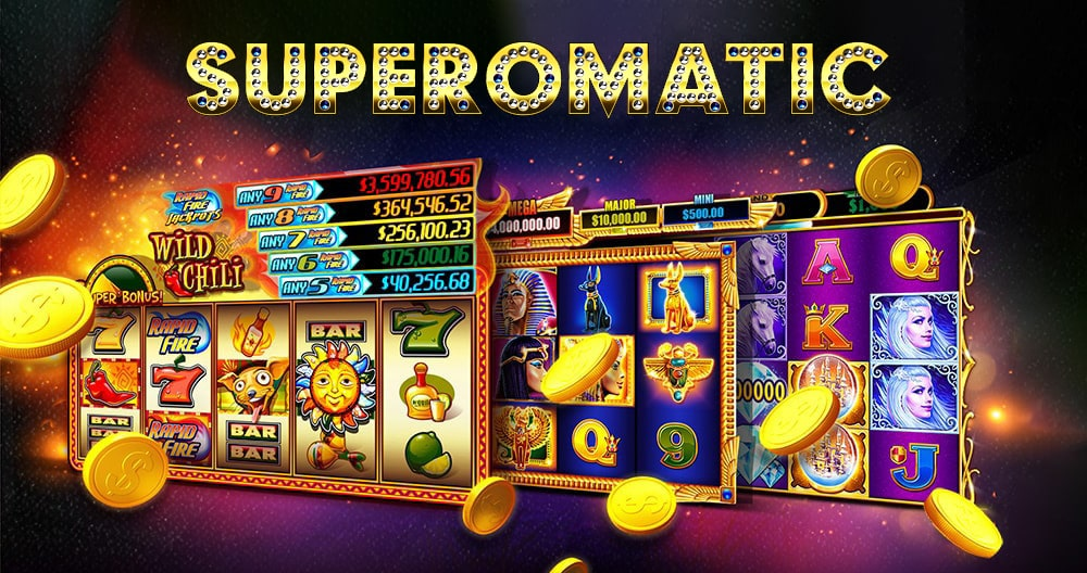 Superomatic online casino system