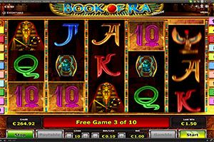 Slot machine Book of Ra 'Deluxe'