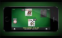 Blackjack Touch game from NetEnt