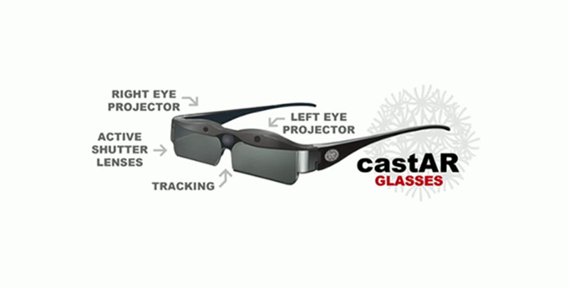 CastAR AR glasses