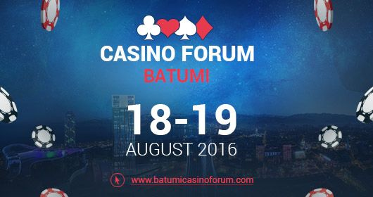 Casino Forum Batumi event dedicated to gambling in Georgia