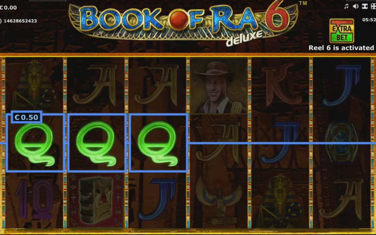 Gaminator - Book of Ra 6, screenshot 5