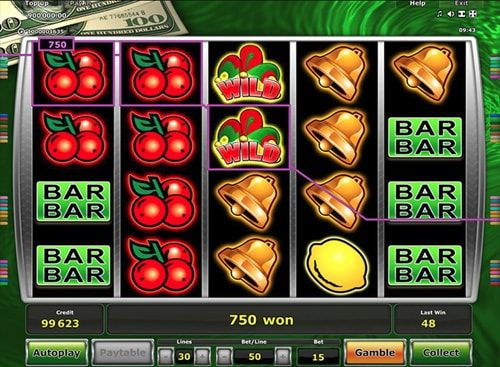 Cash Runner slot machine from Greentube